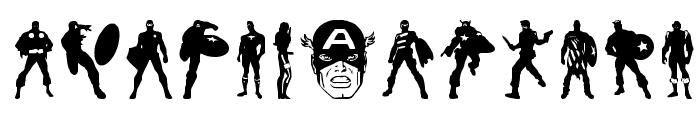 Super Soldier Regular Font UPPERCASE