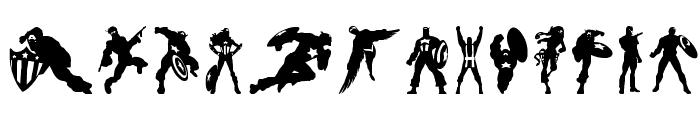 Super Soldier Regular Font LOWERCASE