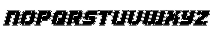 Super Submarine Academy Italic Font UPPERCASE