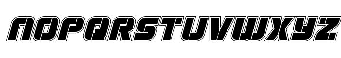 Super Submarine Academy Italic Font LOWERCASE