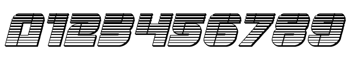 Super Submarine Chrome Italic Font OTHER CHARS