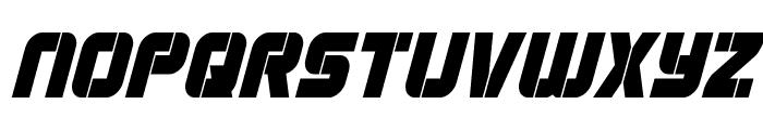 Super Submarine Condensed Italic Font LOWERCASE