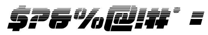 Super Submarine Halftone Italic Font OTHER CHARS