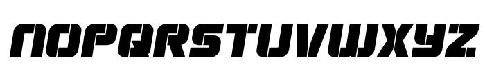 Super Submarine Semi-Italic Font LOWERCASE