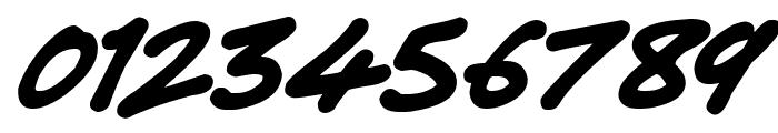 Super Tasty Italic Font OTHER CHARS