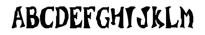 Super Wumpa Font LOWERCASE
