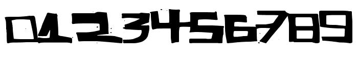 SuperCut Font OTHER CHARS