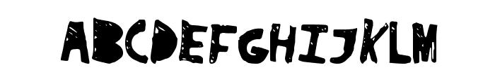 SuperDrag Font UPPERCASE
