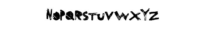 SuperDrag Font LOWERCASE