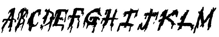 SuperFear Font UPPERCASE