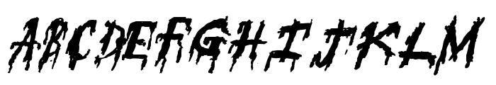 SuperFear Font LOWERCASE