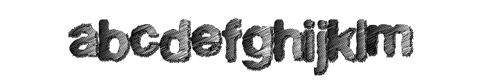 SuperFreak Font LOWERCASE