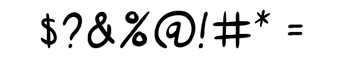SuperGossip Font OTHER CHARS