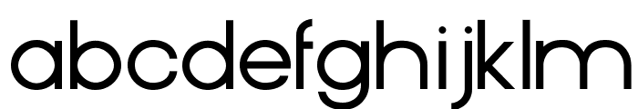SuperRad-Regular Font LOWERCASE