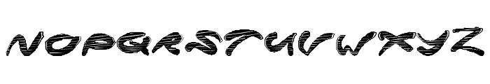 SuperRocket Font UPPERCASE