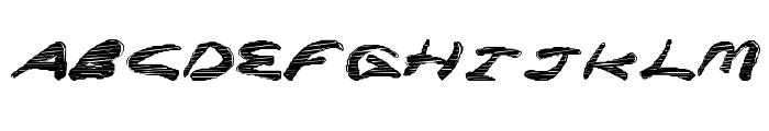 SuperRocket Font LOWERCASE