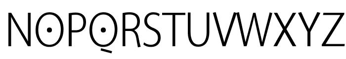 SuperSansCond Light Font UPPERCASE