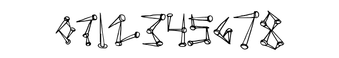SuperTack Font OTHER CHARS
