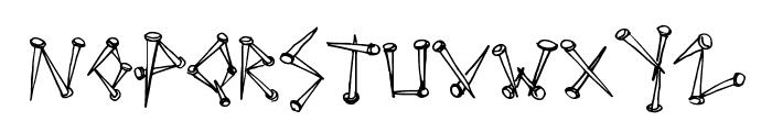 SuperTack Font UPPERCASE