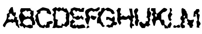 Superbeast Font UPPERCASE