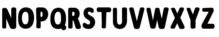 Supercraft Font UPPERCASE