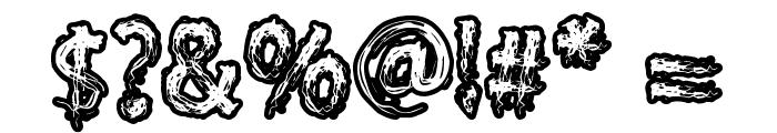 Supercreep Font OTHER CHARS