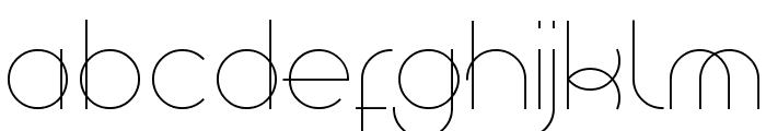 Superfine Light Font UPPERCASE