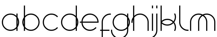 Superfine Font UPPERCASE