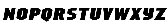 Superheterodyne-Regular Font LOWERCASE