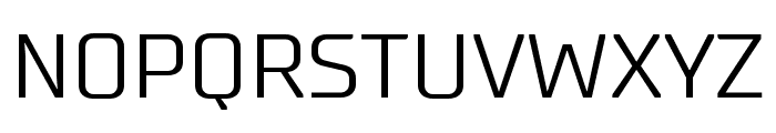 SupermolotLight Font UPPERCASE
