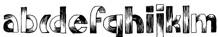 SuperpoZ Font LOWERCASE