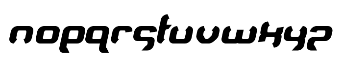 Supersoulfighter Font LOWERCASE