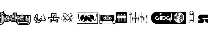 Superstar DJ Font UPPERCASE