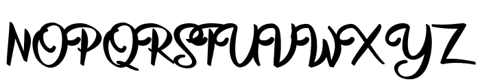 Superstar Personal Use  Font UPPERCASE