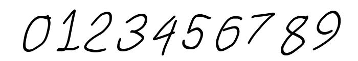 SuplexDriver Regular Oblique Font OTHER CHARS