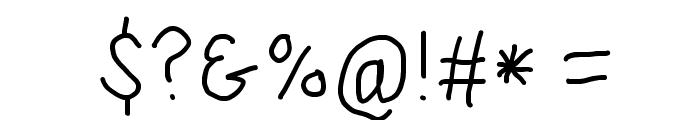 SuplexDriver Regular Font OTHER CHARS