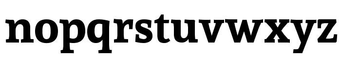 Sura Bold Font LOWERCASE