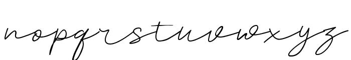 Sureder Stylish Font LOWERCASE