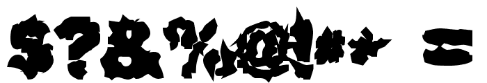 Surf Punx Heavy Font OTHER CHARS