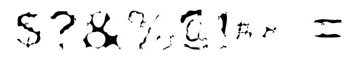 Surf Punx Light Font OTHER CHARS