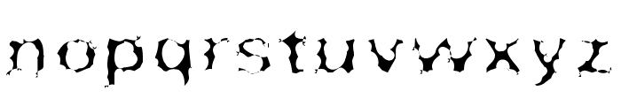 Surf Punx Light Font LOWERCASE