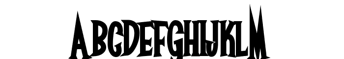 Surf Safari Font UPPERCASE