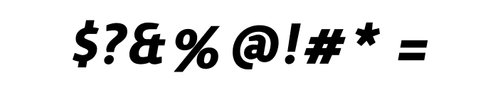 Surface Bold Italic Font OTHER CHARS