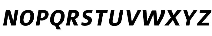 Surface Bold Italic Font UPPERCASE