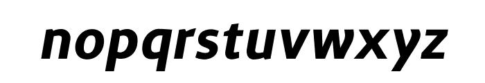 Surface Bold Italic Font LOWERCASE