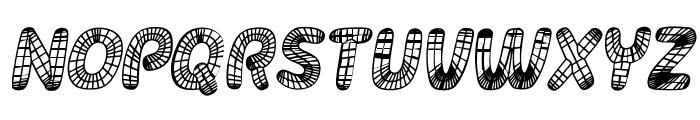 Surfaces Italic Font UPPERCASE