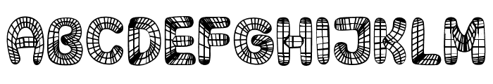 Surfaces Regular Font UPPERCASE