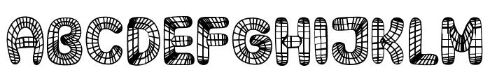 Surfaces Regular Font LOWERCASE