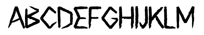 Surfbreaks Font UPPERCASE