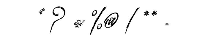 Surfing & Kiteboarding Font OTHER CHARS